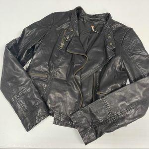 Free People Vegan Leather Moto Jacket 6